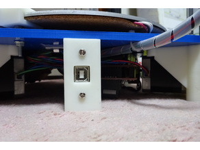 Rostock USB-B Inlet