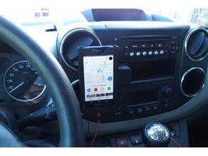 Car phone holder for peugeot Partner