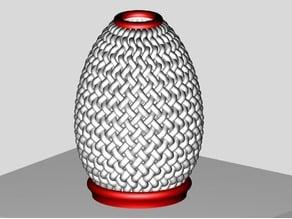 Woven Egg (Inspired Creation)