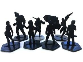 Scifi Silhouette Minis (Biomorphs)