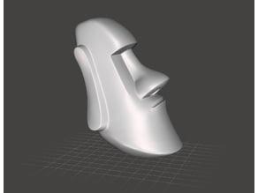 Moai tête seule - Moai only head