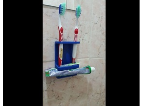 4 brushes toothbrush holder