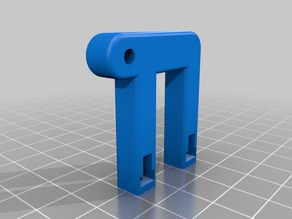 Anet A6/A8 upgrade: Y-Belt tensioner improved holder
