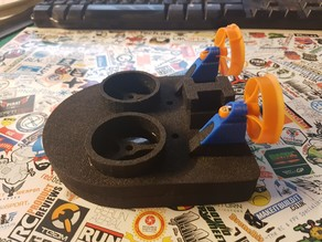 Rear Motor duct mounts for Drone Junkie Tiny Whoovers