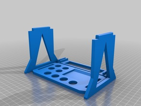Collapsible Tool/Shock Stand
