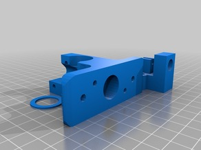 Wade's extruder idler with tube fitting