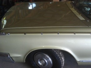 66 Chrysler Newport Chrome Trim Clips