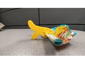 Hand Banana Bag Clip from Aqua Teen Hunger Force