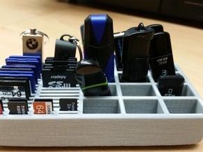 Micro SD/SD/USB Stick Holder