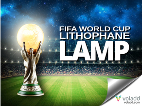 FIFA World Cup Lithophane Lamp