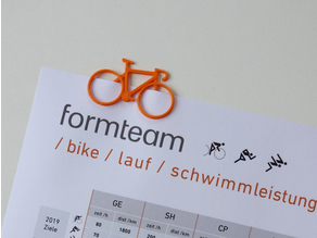 Bike Paperclip