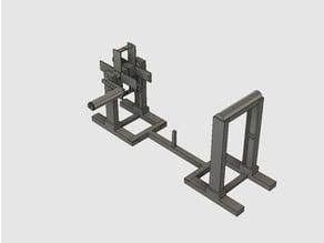 3D Printer Filament Rewinder Station - Hand Crank