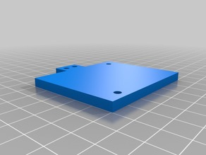 Anet A6 extruder fan mounting plate