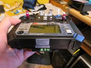 Rechargeable battery mod for Flysky i6 transmitter