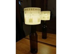 Bottle night light (litophane)