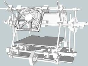 RepRap Mendel Fan Mount