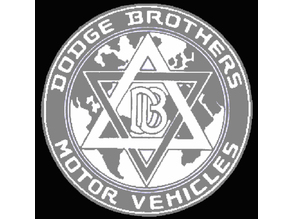 Original Dodge Brothers Badge