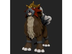 Legendary Pokemon Entei