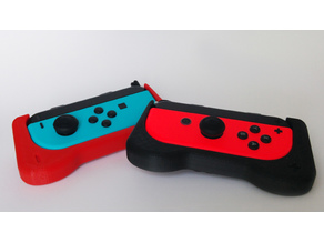 Joy-Con Grip with Centered Triggers - Nintendo Switch JoyCon Holder