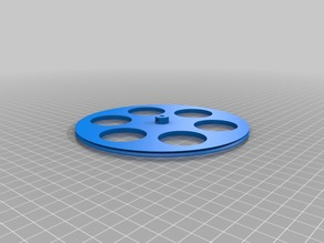 My 150mm Customized Wheel for 28BYJ-48 stepper motor
