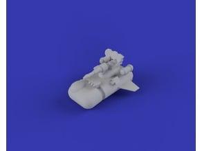 Epically Tiny Deodorant Anti-Gravity Assault Vehicle