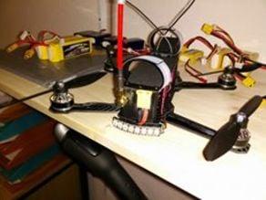 ZMR 250 LED Holder for WS2812 RGB LED Stripe