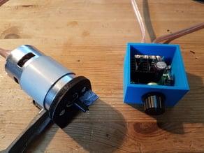 Motor mounting for cheap 795 engine // Motorbefestigung  für günstigen 795er Motor