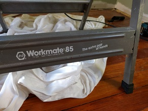 Replacement foot for B&D Workmate table