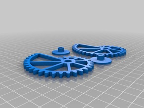 Nautilus gears with involute gearing - customizable