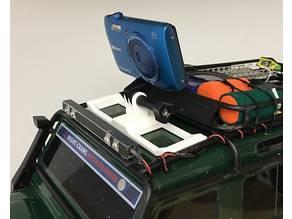 TRX-4 Actioncam Dachhalterung