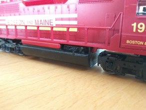 Fuel tank for Mehano SD40 H0 scale loco