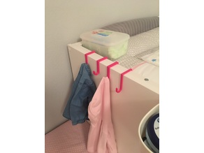 Hook for IKEA STUVA Diaper-Changing Table