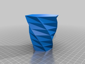 My Customized Twisted Polygon Vase