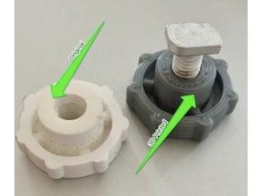 Plastic Nut for M6 Twist In Screw
