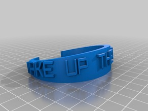 Wake Up the Echoes Notre Dame Bracelet