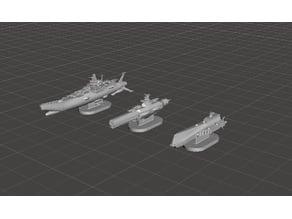 ROBOTECH Inherit the Stars EBSIS Fleet RRT Strategy GAME PIECES set2