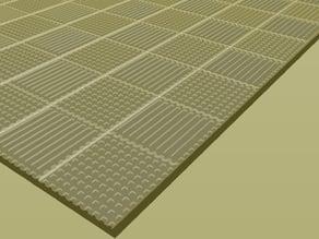 quarter checkerboard