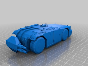 Aliens Armored Personnel Carrier (turret down)