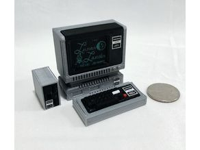 Mini Tandy/Radio Shack TRS80 Model 1