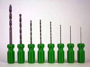 Set Of Reamers (10mm - 2mm).