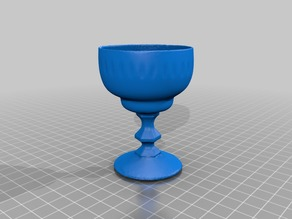 Ancient crystal Glas - 3D Scan