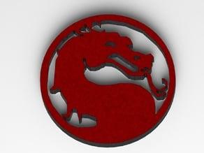 Mortal Combat Logo and Batman VS Superman logo