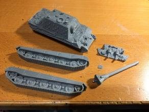1/100 Jagdtiger deconstructed
