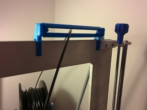 More Robust Filament Guide Bar for Prusa I3 Metal Frame