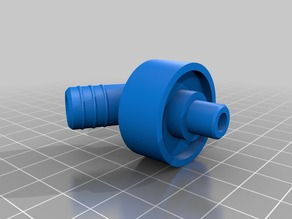 Subaru Impreza clutch master cylinder hose connector
