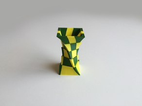 2-Color Box Vase (Dual Extrusion)