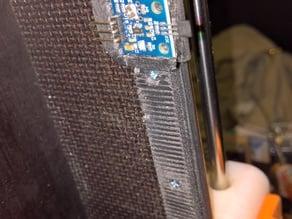 Hall-E - height adjustable endstop holder for Hall-E-Endstops