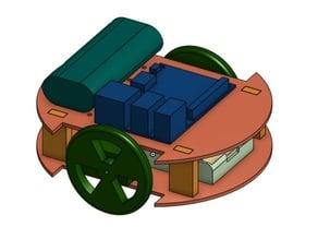 Raspberry Pi 3 bot chassis