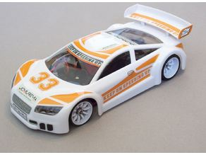 Mini Z Bodyclip Nissan GTR R34 and Jomurema