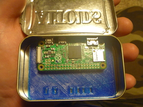 Altoids or PiHut Essentials tin mount